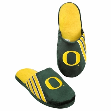 Oregon Ducks 2012 Team Stripe Logo Slippers