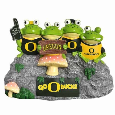 Oregon Ducks Frog Fan Bench