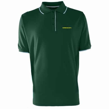 Oregon Mens Elite Polo Shirt (Color: Green)