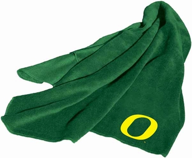 Oregon Fleece Throw Blanket