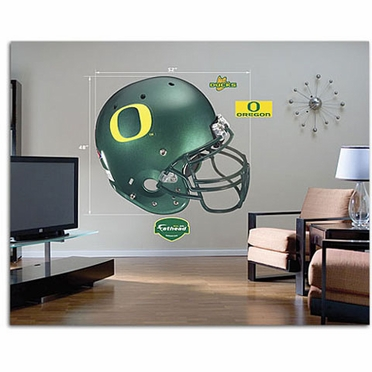 Oregon Helmet Fathead Wall Graphic