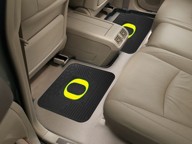 Oregon SET OF 2 Heavy Duty Vinyl Rear Car Mats