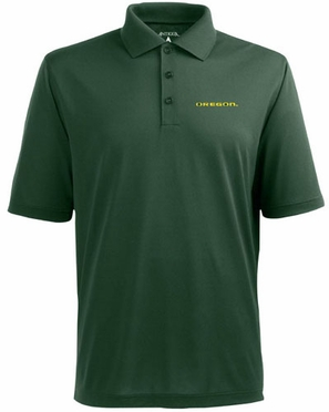 Oregon Mens Pique Xtra Lite Polo Shirt (Team Color: Green)
