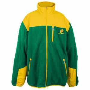 Oregon Poly Dobby Full Zip Polar Fleece Jacket - Medium