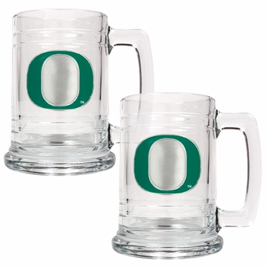 Oregon Set of 2 15 oz. Tankards