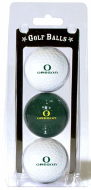 Oregon Set of 3 Multicolor Golf Balls