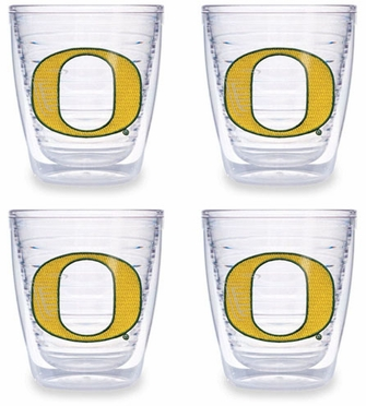 Oregon Set of FOUR 12 oz. Tervis Tumblers