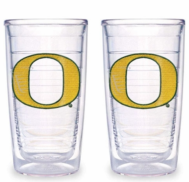Oregon Set of TWO 16 oz. Tervis Tumblers
