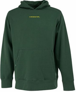 Oregon Mens Signature Hooded Sweatshirt (Team Color: Green)