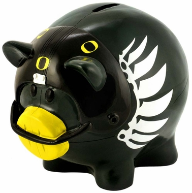 Oregon Ducks Piggy Bank - Thematic Small