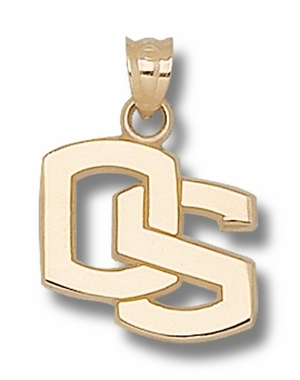 Oregon State 14K Gold Pendant