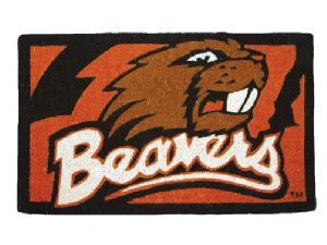 Oregon State 18x30 Bleached Welcome Mat