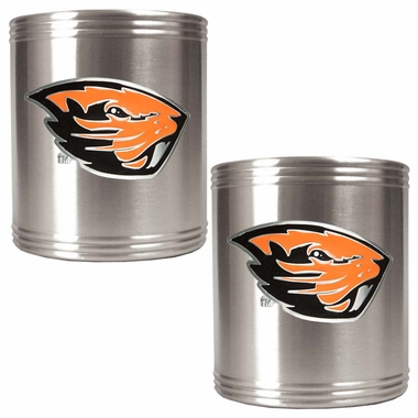 Oregon State 2 Can Holder Set