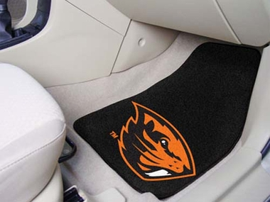 Oregon State 2 Piece Car Mats
