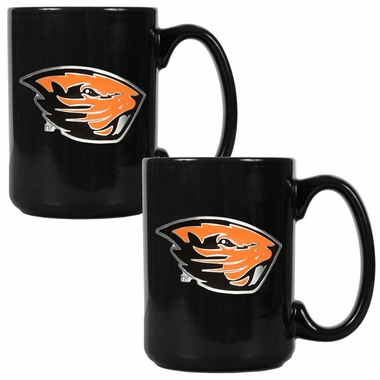 Oregon State 2 Piece Coffee Mug Set