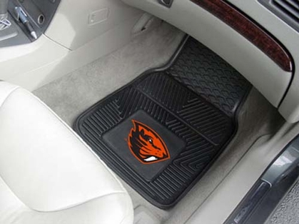 Oregon State 2 Piece Heavy Duty Vinyl Car Mats