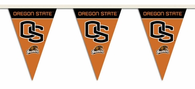 Oregon State 25 Foot String of Party Pennants (P)