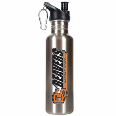Oregon State 26oz Stainless Steel Water Bottle (Silver)