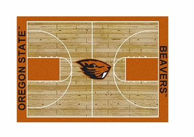 "Oregon State 3'10"" x 5'4"" Premium Court Rug"