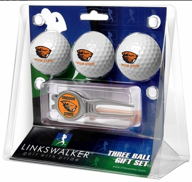 Oregon State 3 Ball Gift Pack With Kool Tool