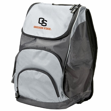 Oregon State Action Backpack (Color: Grey)