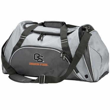 Oregon State Action Duffle (Color: Grey)