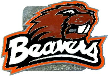 Oregon State Beavers Hitch Cover Class 3