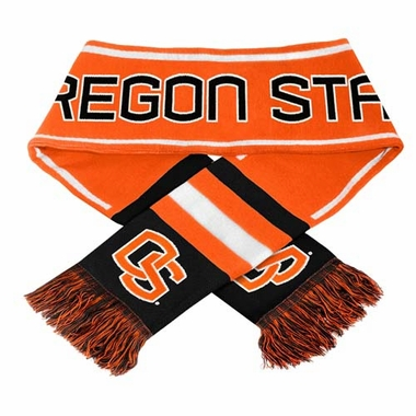 Oregon State Beavers NCAA 2013 Team Wordmark Knit Scarf