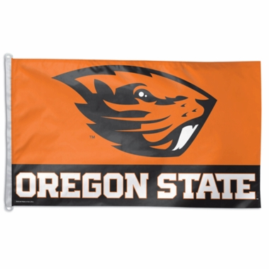 Oregon State Big 3x5 Flag