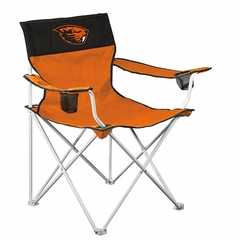 Oregon State Big Boy Adult Folding Logo Chair