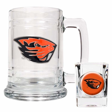 Oregon State Boilermaker Set