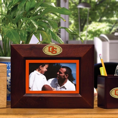 Oregon State BROWN Landscape Picture Frame
