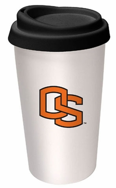 Oregon State Ceramic Travel Cup