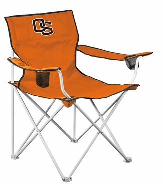 Oregon State Deluxe Adult Folding Logo Chair