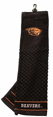 Oregon State Embroidered Golf Towel