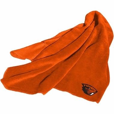 Oregon State Fleece Throw Blanket