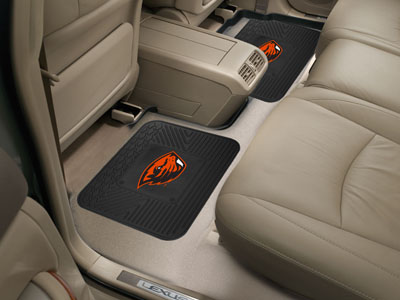Oregon State SET OF 2 Heavy Duty Vinyl Rear Car Mats