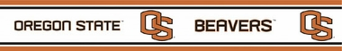 Oregon State Peel and Stick Wallpaper Border