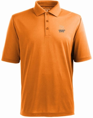Oregon State Mens Pique Xtra Lite Polo Shirt (Team Color: Orange)