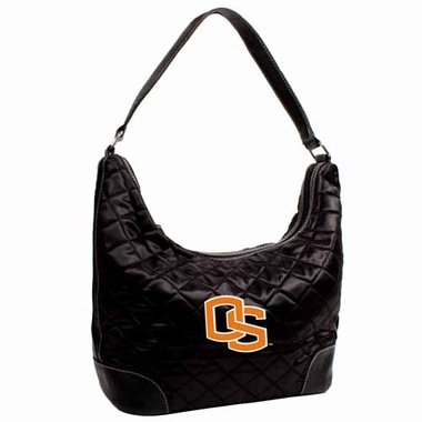 Oregon State Quilted Hobo Purse