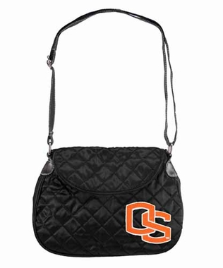 Oregon State Quilted Saddlebag
