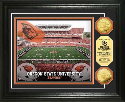 Oregon State Beavers Oregon State University Gold Coin Photo Mint