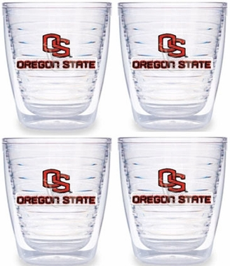 Oregon State Set of FOUR 12 oz. Tervis Tumblers