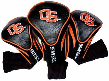 Oregon State Set of Three Contour Headcovers