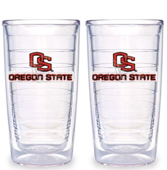 Oregon State Set of TWO 16 oz. Tervis Tumblers