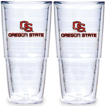 Oregon State Set of TWO 24 oz. Tervis Tumblers