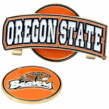 Oregon State Slider Clip With Ball Marker