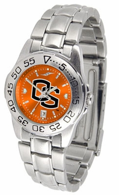 Oregon State Sport Anonized Women's Steel Band Watch