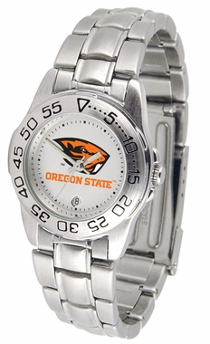 Oregon State Sport Women's Steel Band Watch