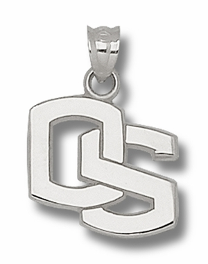 Oregon State Sterling Silver Pendant